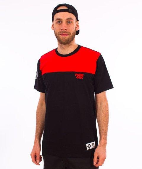 Patriotic-CLS Shoulder T-shirt Czarny/Czerwony