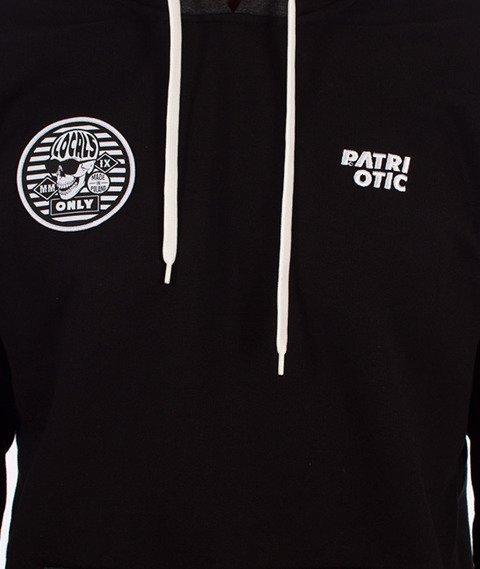 Patriotic-CLS Skull Bluza Kaptur Czarna/Grafitowa