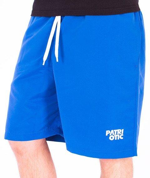 Patriotic-CLS Spodnie Krótkie Niebieskie