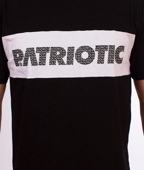 Patriotic-FF Box T-shirt Czarny