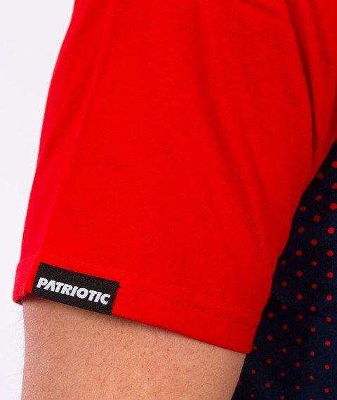Patriotic-Futura FD T-shirt Granatowy/Biały/Czerwony