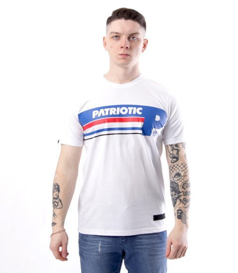 Patriotic-Futura Lanes T-shirt Biały
