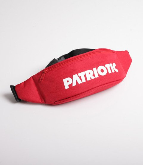 Patriotic Futura Saszetka Nerka Czerwony