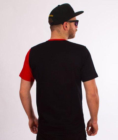 Patriotic-Futura Shade Cut T-shirt Czarny/Czerwony