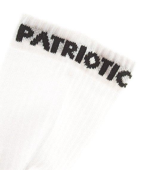 Patriotic-Futura Skarpetki Białe