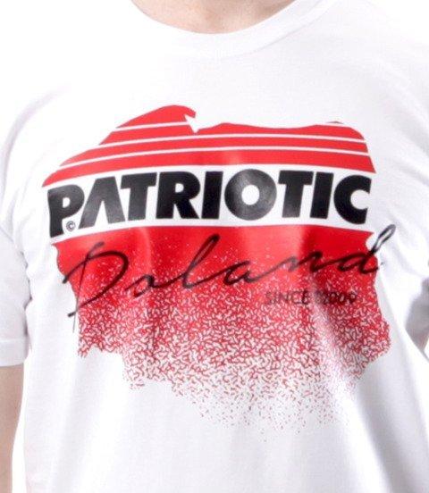 Patriotic-Future Map T-shirt Biały
