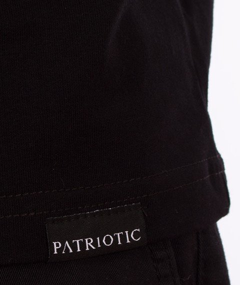 Patriotic-Husarz T-shirt Czarny