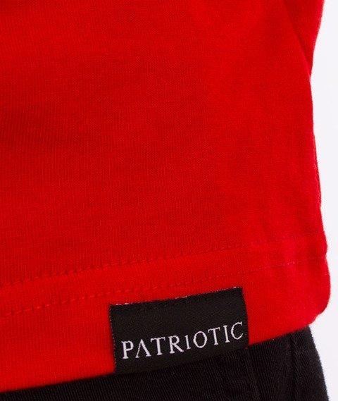 Patriotic-Husarz T-shirt Czerwony