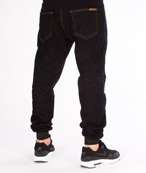 Patriotic-Jogger Jeans Spodnie Czarne