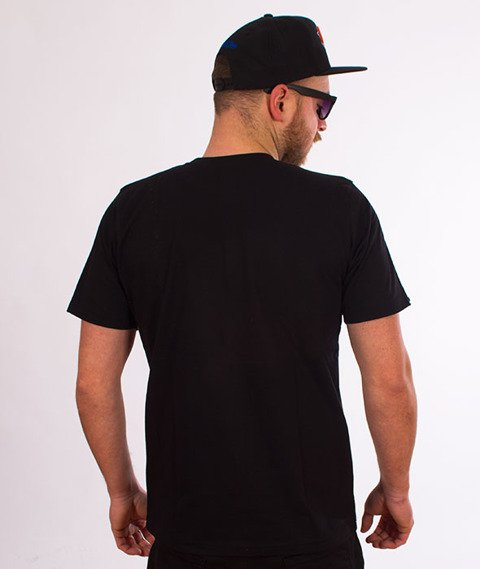 Patriotic-Kapsel T-shirt Czarny