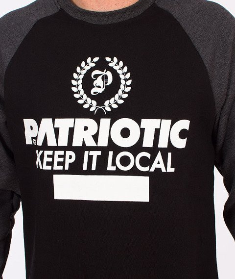 Patriotic-Laur Bluza Czarna/Grafitowa