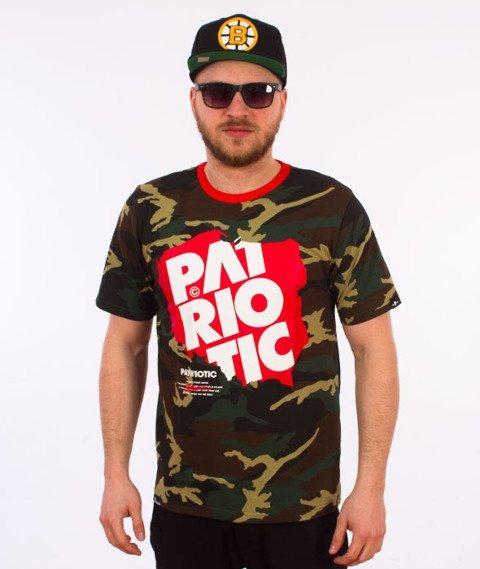 Patriotic-Map T-shirt Camo