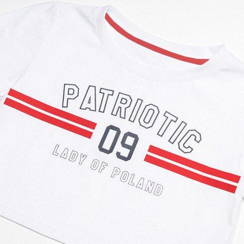 Patriotic P 09T-Shirt Damski Biały
