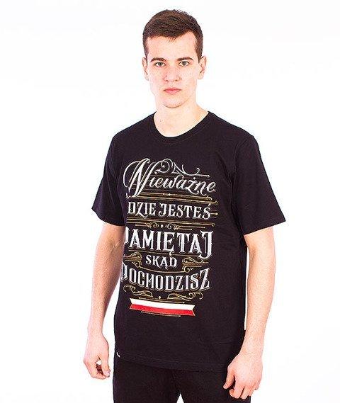 Patriotic-Pamiętaj T-shirt Czarny