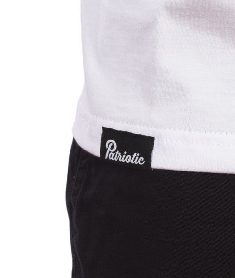 Patriotic-Particles T-Shirt Biały