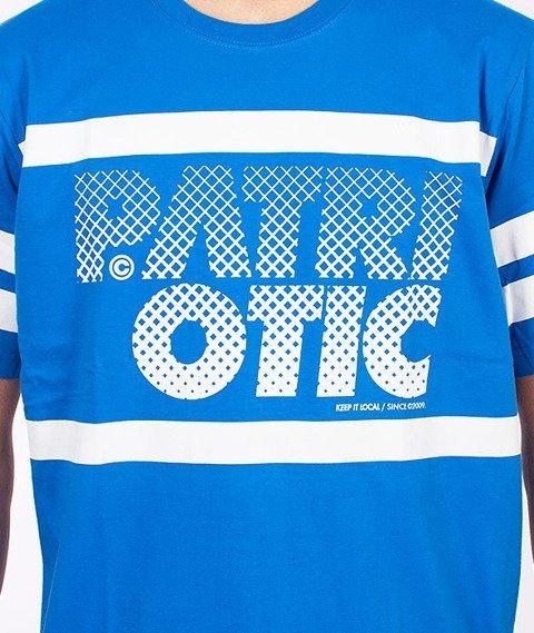 Patriotic-Particles T-Shirt Niebieski