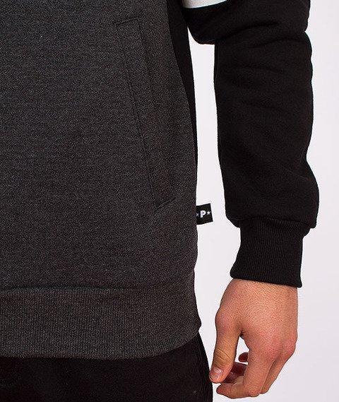 Patriotic-Shoulder Bluza Grafitowa/Czarna