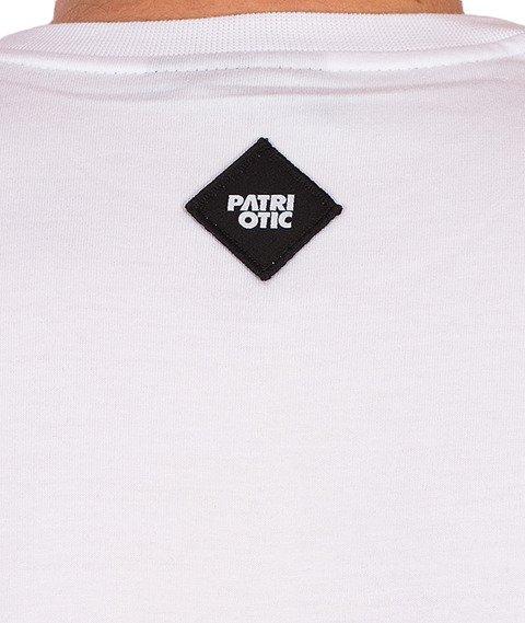 Patriotic-Shoulder T-Shirt Biały/Czarny