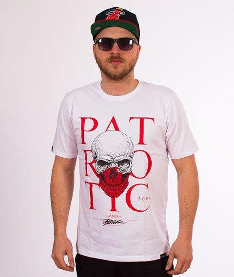 Patriotic-Skull Poland T-shirt Biały