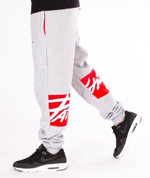 Patriotic-Tag Box Spodnie Dresowe Melanż