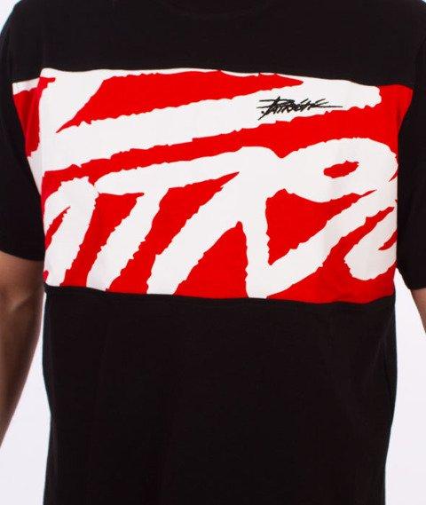Patriotic-Tag Box T-shirt Czarny