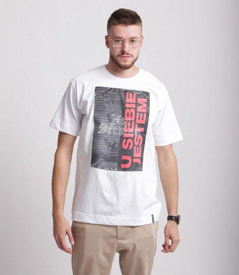 Pihszou-U Siebie Jestem T-shirt Biały