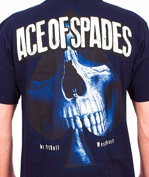 Pit Bull West Coast-Ace Of Spades T-Shirt Dark Navy
