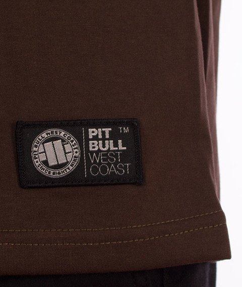 Pit Bull West Coast-Ace of Spades'18 T-Shirt Brown