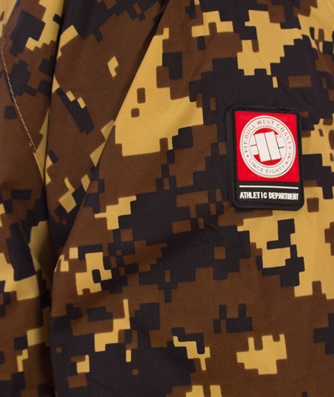 Pit Bull West Coast-Athletic IV Jacket Kurtka Sandcamo