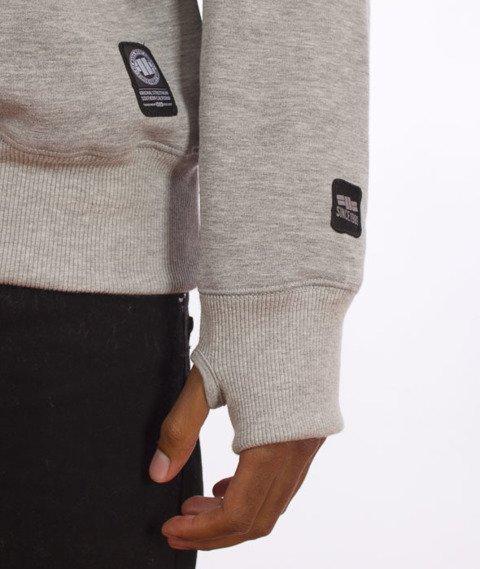 Pit Bull West Coast-Basic Fast Sweatshirt Crewneck Grey Melange