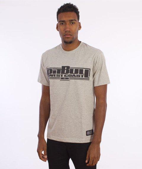 Pit Bull West Coast-Basic Pit Bull T-shirt Grey Melange