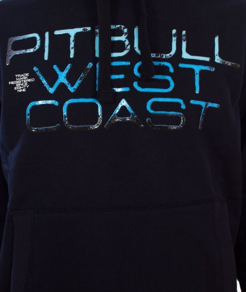 Pit Bull West Coast-Blue Eyed Devil Bluza Kaptur Granatowy
