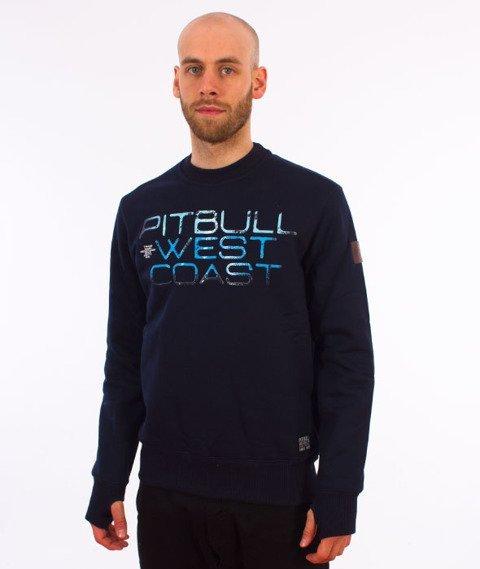 Pit Bull West Coast-Blue Eyed Devil Crewneck Bluza Granatowa