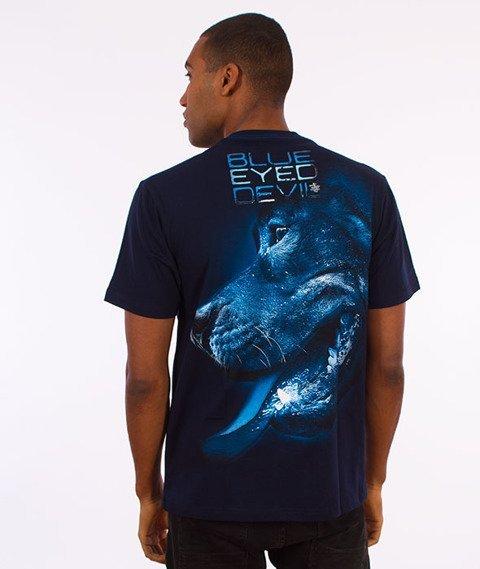 Pit Bull West Coast-Blue Eyed Devil X T-Shirt Granatowy