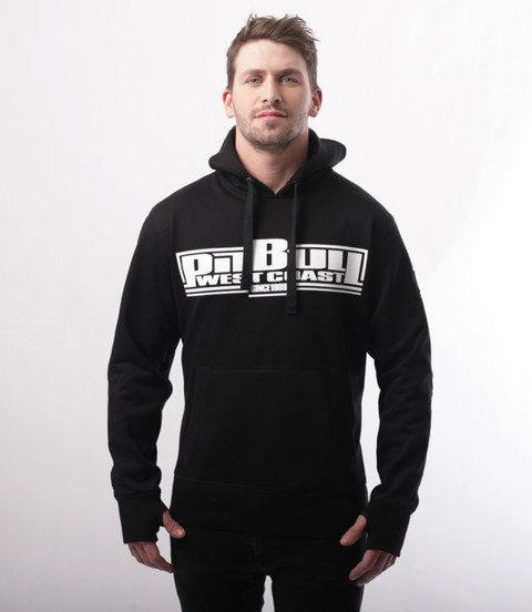 Pit Bull West Coast-Boxing Bluza Kaptur Black