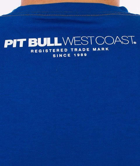 Pit Bull West Coast-Casino T-Shirt Niebieski