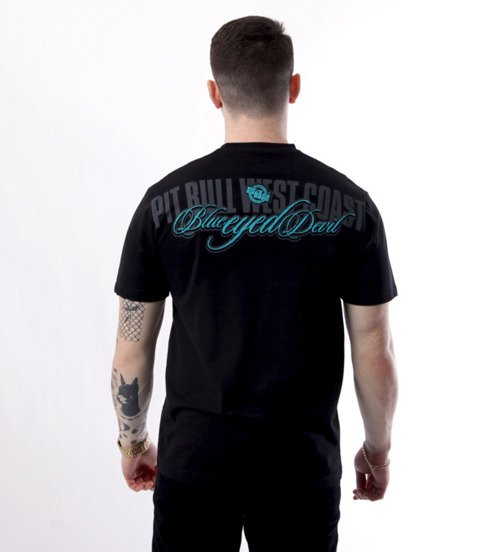 Pit Bull West Coast-Classic Blue Eyed Devil T-Shirt Czarny