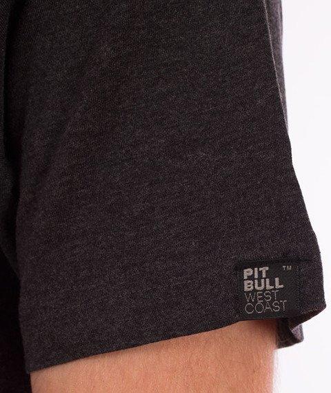 Pit Bull West Coast-Classic Boxing T-Shirt Charcoal