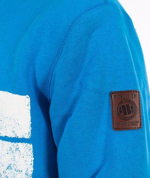 Pit Bull West Coast-Classic Logo Crewneck Bluza Niebieska
