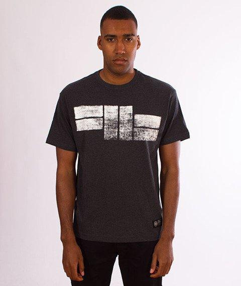 Pit Bull West Coast-Classic Logo T-Shirt Charcoal