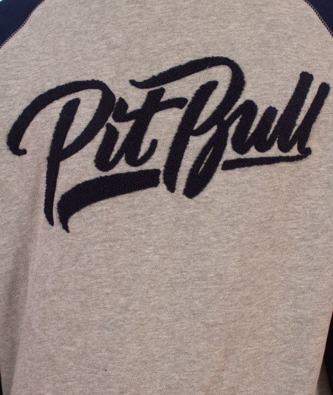 Pit Bull West Coast-El Jefe Crewneck Bluza Szara