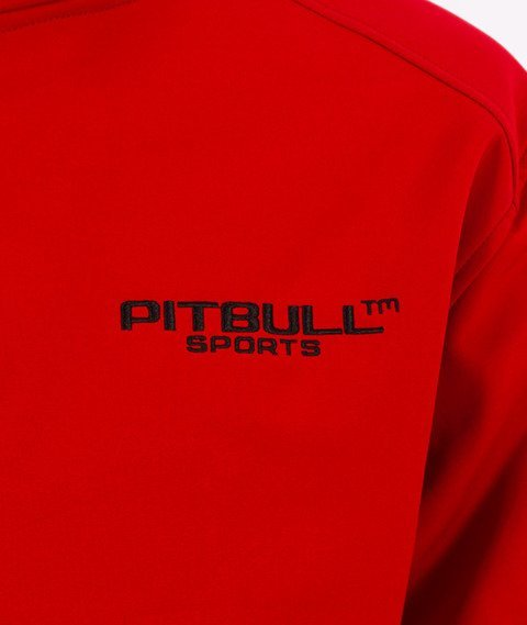 Pit Bull West Coast-Halsey Softshell Kurtka Czerwona