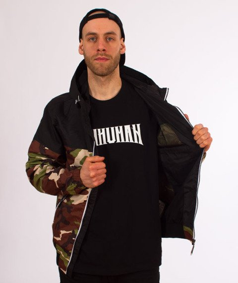 Pit Bull West Coast-Hooded Windbreaker Homelands 2 Kurtka Wiatrówka Woodland Camo