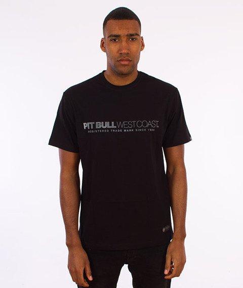 Pit Bull West Coast-Iron Plate T-Shirt Czarny