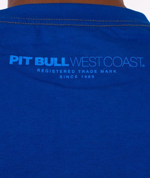 Pit Bull West Coast-Juniper T-Shirt Niebieski