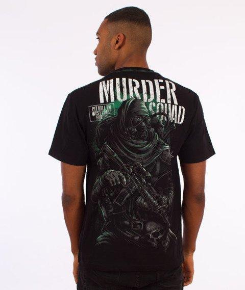 Pit Bull West Coast-Murder Squad T-Shirt Czarny