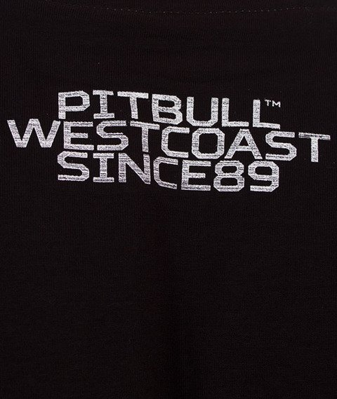 Pit Bull West Coast-Rating Plate T-Shirt Black