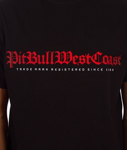 Pit Bull West Coast-Skull Dog 17 T-Shirt Czarny