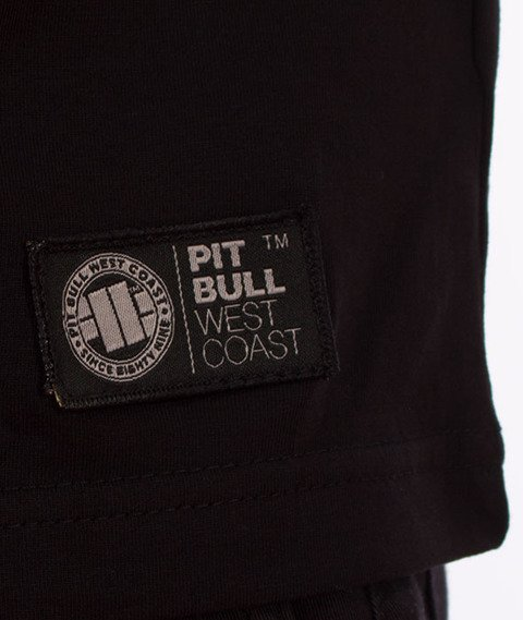 Pit Bull West Coast-Skull Dog 18 T-Shirt Czarny
