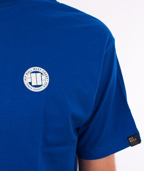 Pit Bull West Coast-Small Logo 18 T-Shirt Royal Blue